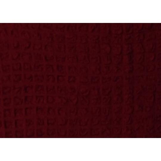 Чехол без оборки Комфорт Угловой диван + кресло, Бордовый