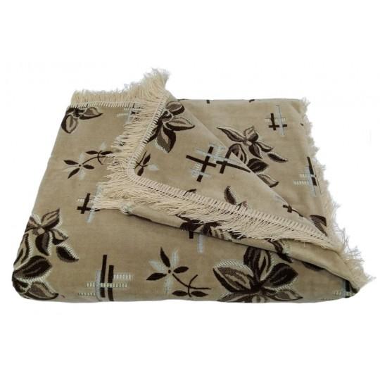 Комплект дивандеков для мягкой мебели 160х220 шпигель, рис. Цветок