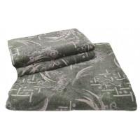 Комплект дивандеков для мягкой мебели 180х220 шпигель, рис. Набросок зеленый