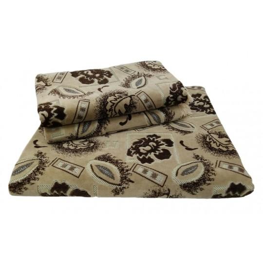 Комплект дивандеков для мягкой мебели 160х220 шпигель, рис. Пион