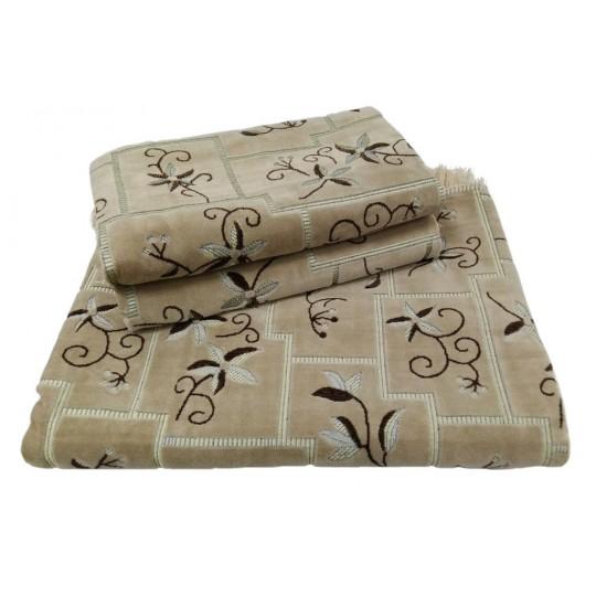 Комплект дивандеков для мягкой мебели 160х220 шпигель, рис. Завиток