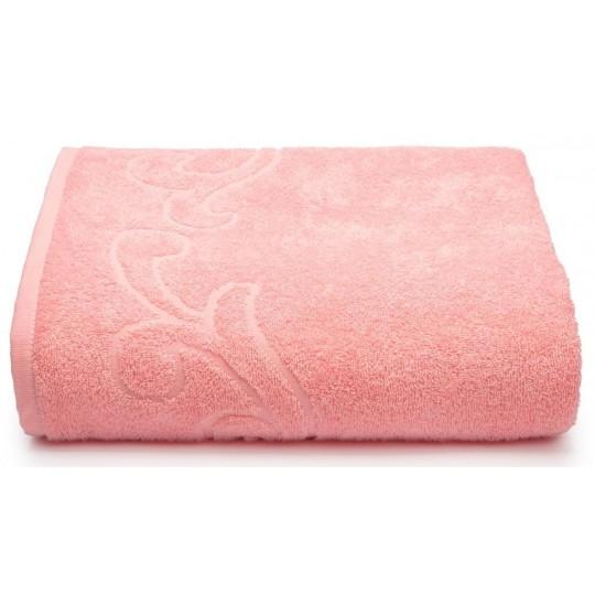 04353 Простыня махровая Romance 150х200 см, розовая