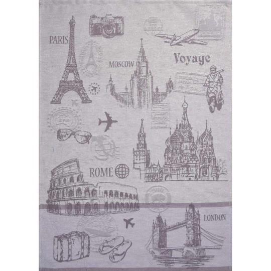 2597 Кухонное полотенце Bon voyage