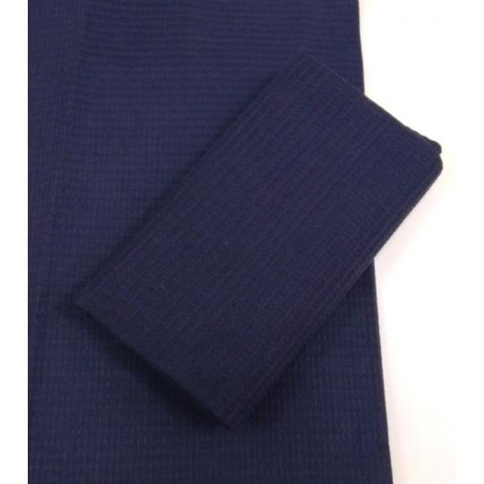 Кухонное полотенце вафельное, Синий