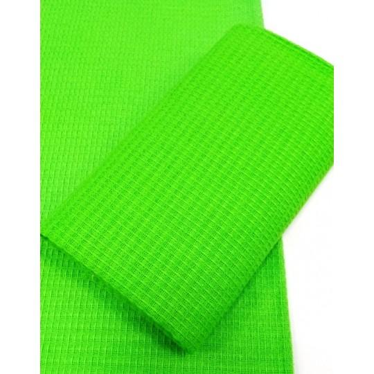 Кухонное полотенце вафельное, Зеленый