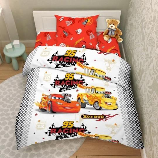 КПБ Disney бязь 1,5 спальный рис. 4444 Крутые тачки