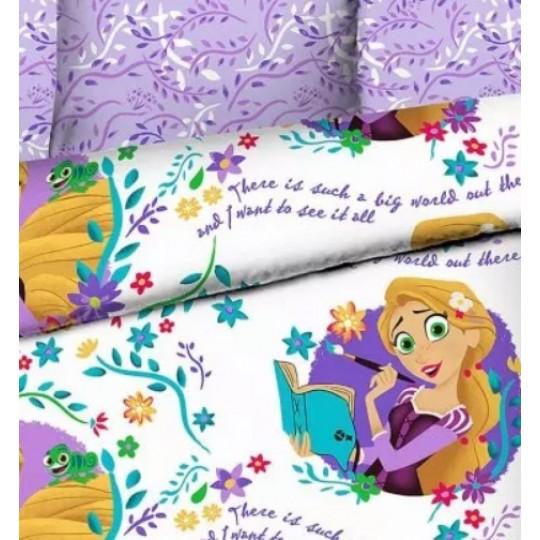 КПБ Disney бязь 1,5 спальный рис. 7731 Новая история Рапунцель
