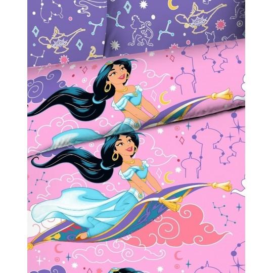 КПБ Disney бязь 1,5 спальный рис. 9219 Принцесса Жасмин