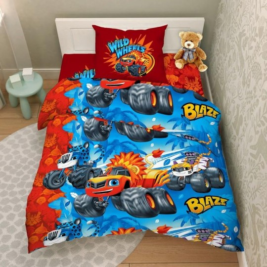 КПБ Disney бязь 1,5 спальный рис. 9533 Крутые гонки