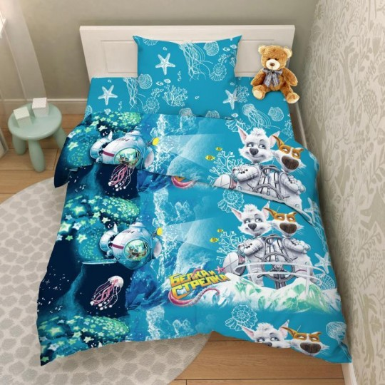 КПБ Disney бязь 1,5 спальный рис. 9623 Карибская тайна