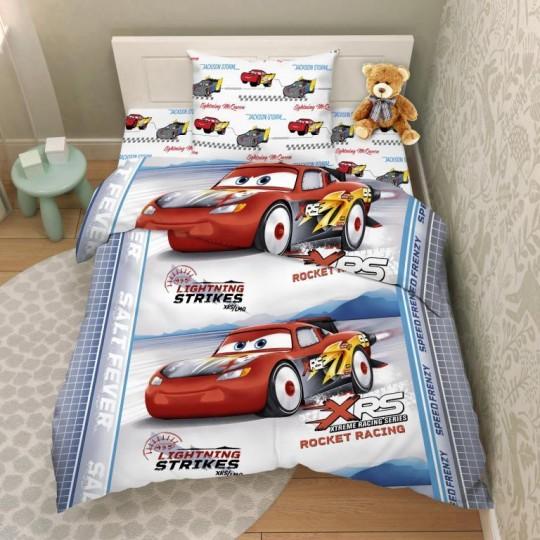 КПБ Disney бязь 1,5 спальный рис. 9663 Непобедимый Маккуин