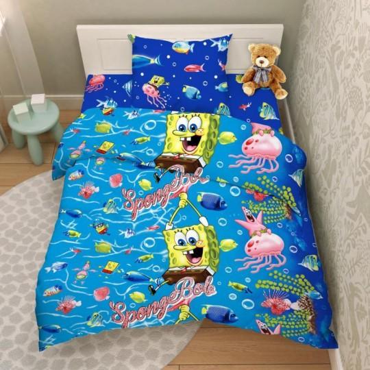 КПБ Disney бязь 1,5 спальный рис. 9673 На дне океана