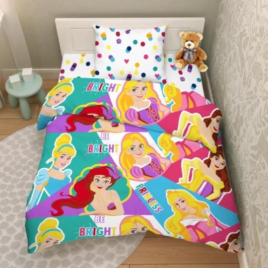 КПБ Disney бязь 1,5 спальный рис. 9743 Волшебные принцессы