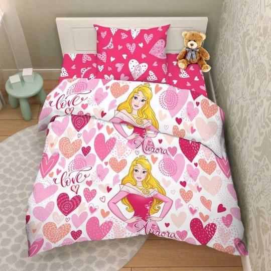 КПБ Disney бязь 1,5 спальный рис. 9832 Принцесса Аврора