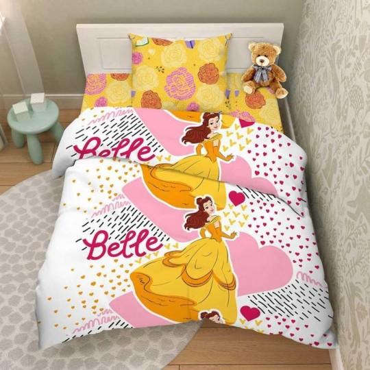 КПБ Disney бязь 1,5 спальный рис. 9834 Белль