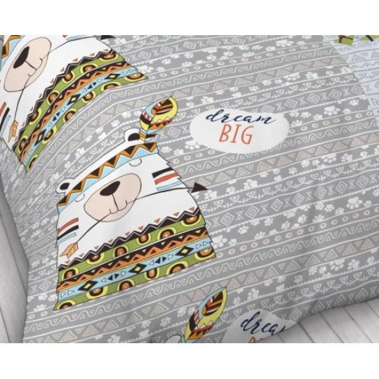 КПБ Фея Кидс 1.5 спальный рис. Мишка индеец