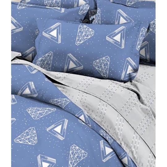 КПБ Dolce Vita Premium 1.5 спальный рис. Эврика