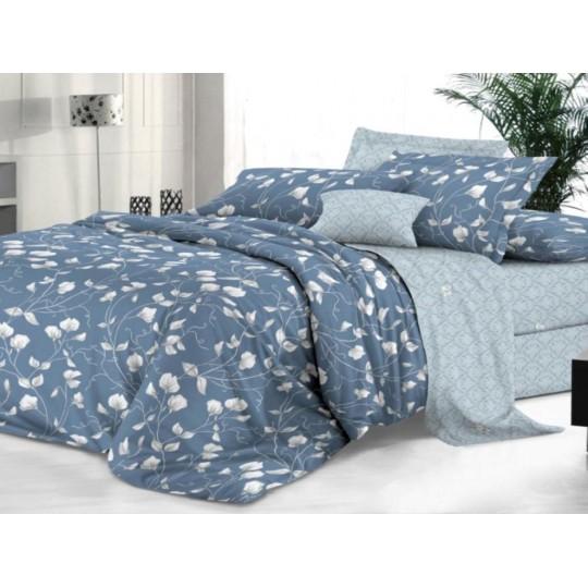 КПБ De Luxe сатин 1.5 спальный,  рис. Айседора