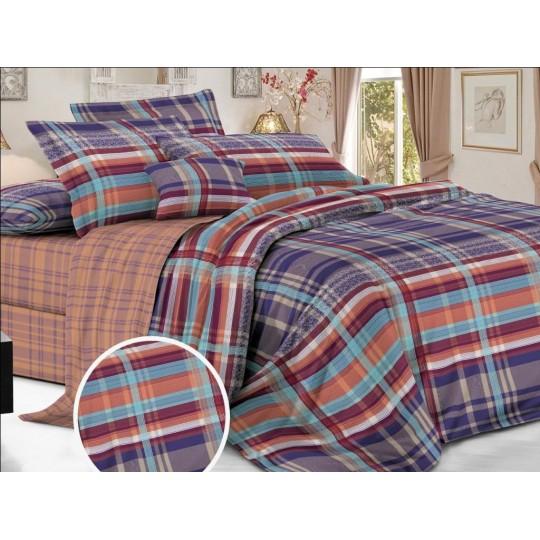 КПБ De Luxe сатин 1.5 спальный,  рис. Берингар