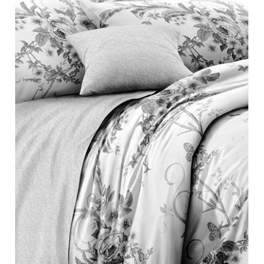 КПБ De Luxe сатин 1.5 спальный,  рис. Бессан