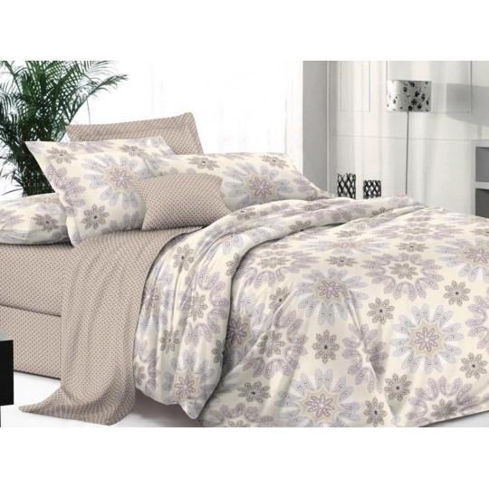 КПБ De Luxe сатин 1.5 спальный,  рис. Брунно