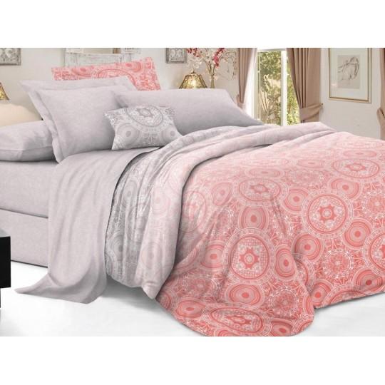 КПБ De Luxe сатин 1.5 спальный,  рис. Дайлин