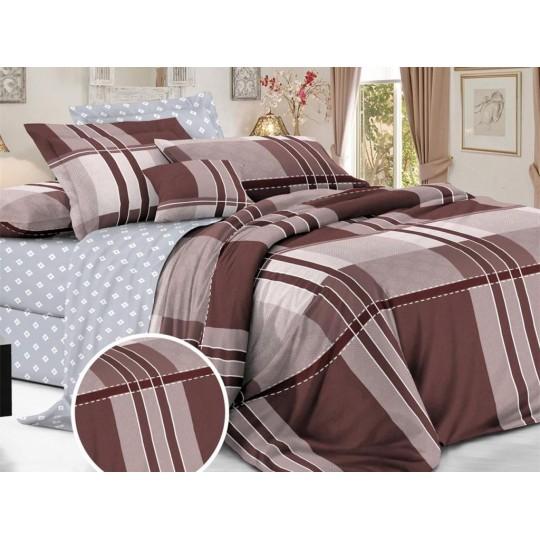 КПБ De Luxe сатин 1.5 спальный,  рис. Финнеган