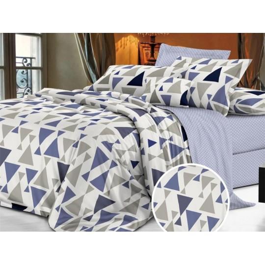 КПБ De Luxe сатин 1.5 спальный,  рис. Горан