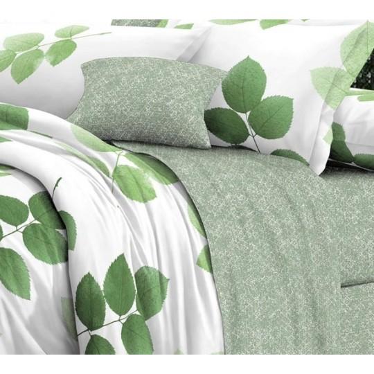 КПБ De Luxe сатин 1.5 спальный,  рис. Кэлли