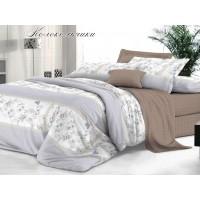 КПБ De Luxe сатин 2 спальный Макси,  рис. Колокольчики