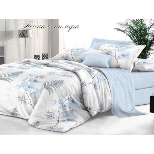 КПБ De Luxe сатин 1.5 спальный,  рис. Лесная нимфа