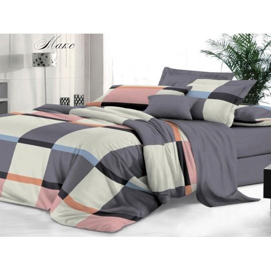 КПБ De Luxe сатин 1.5 спальный,  рис. Макс