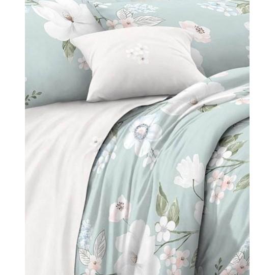 КПБ De Luxe сатин 1.5 спальный,  рис. Мила