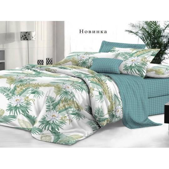 КПБ De Luxe сатин 1.5 спальный,  рис. Новинка