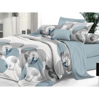 КПБ De Luxe сатин 2 спальный Макси,  рис. Ремарка