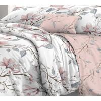 КПБ De Luxe сатин 2 спальный Макси,  рис. Юлия