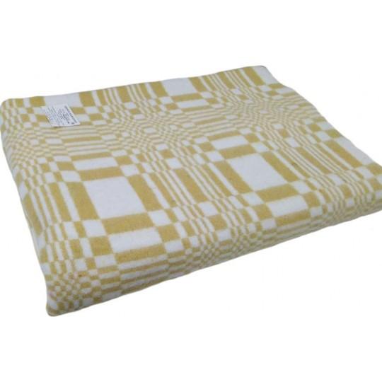Одеяло 140х205 байковое, Клетка