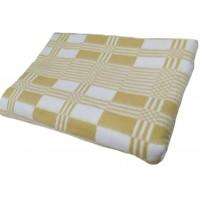Одеяло 140х205 байковое, бежевое