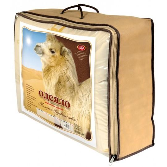 Одеяло 1,5 спальное, Верблюд всесезонное