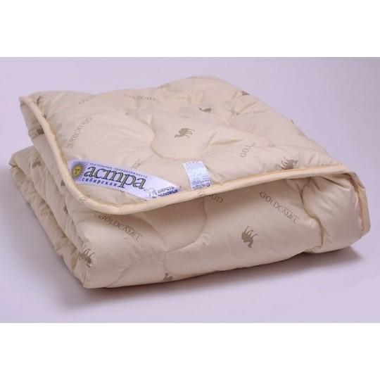 Одеяло 1,5 спальное, Верблюжья шерсть облегченное