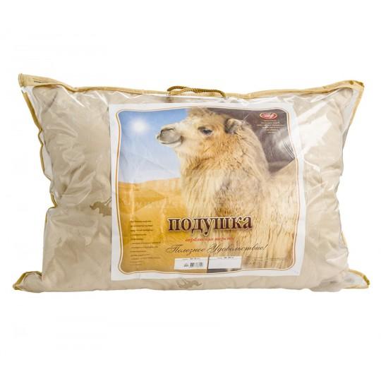 Подушка 50х70 см, верблюжья шерсть