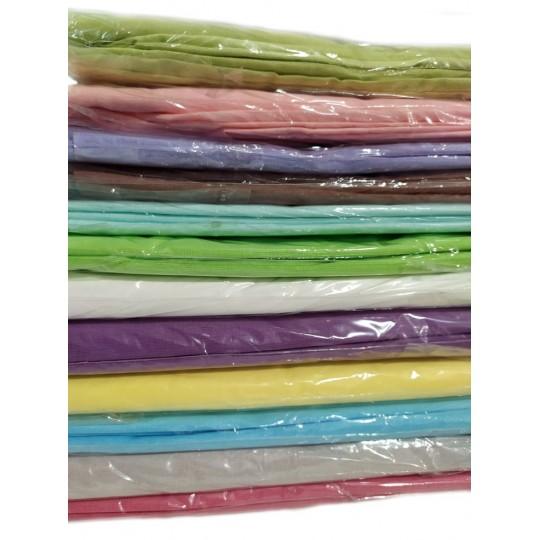 Наволочки Камея поплин 70х70 (2 шт) цвета в ассортименте