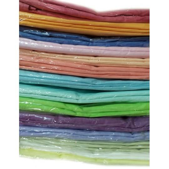 Простыня Камея поплин Евро Макси 220х240 см (цвета в ассортименте)