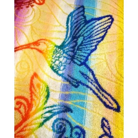 Полотенце махровое 30х60 Примавера-птица