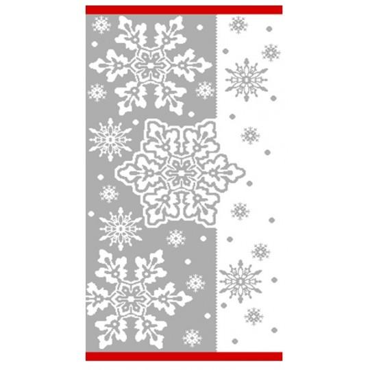 Полотенце махровое 40х70 Снежный вальс