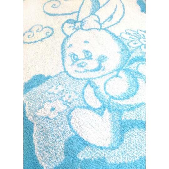 Полотенце махровое 30х60 Зайка