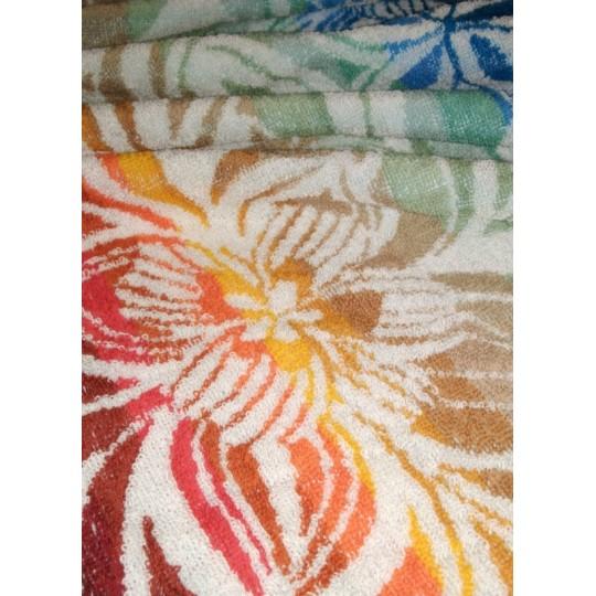 Полотенце махровое 70х140 Цветущий сад