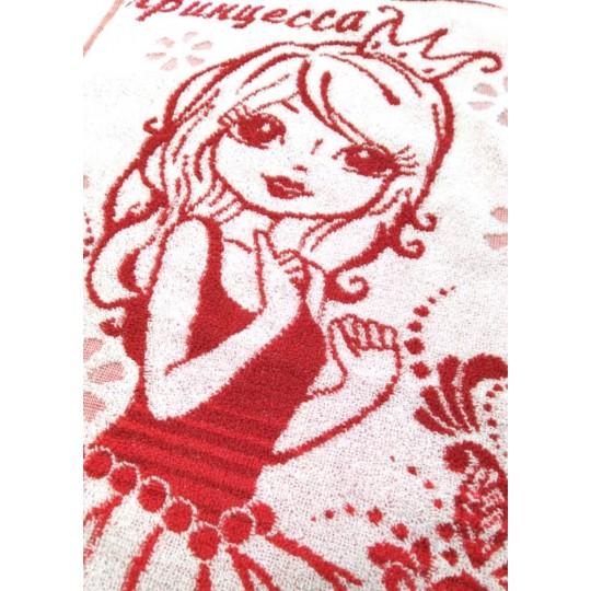 Полотенце махровое 40х70 Принцесса