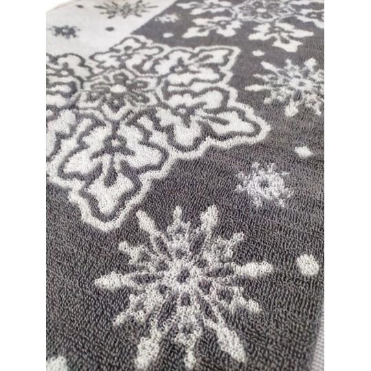 Полотенце махровое 50х90 Снежный вальс