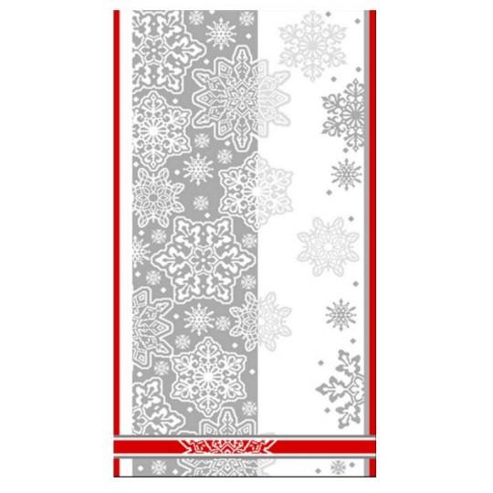 Полотенце махровое 70х140 Снежный вальс